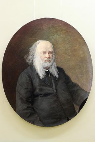 Портрет Василия Баснина. Петр Старцев. Холст, масло. 1870-е годы