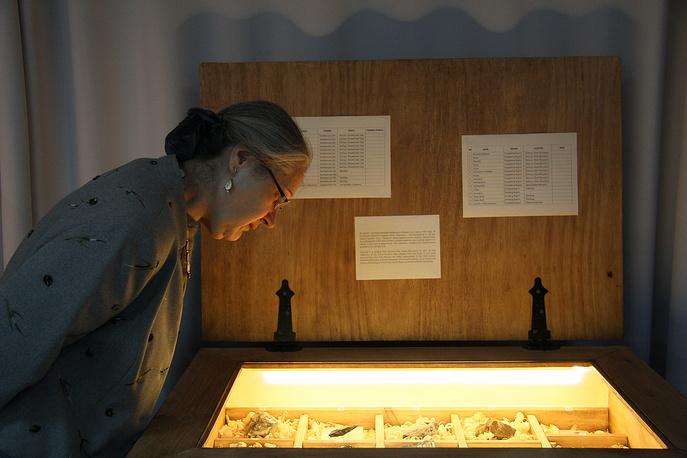 Всего на выставке в Новосибирске представлено 147 образцов из 427, содержащихся в коллекции