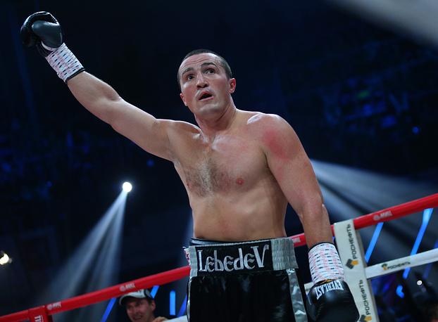 Денис Лебедев защитил титул чемпиона мира по версии WBC