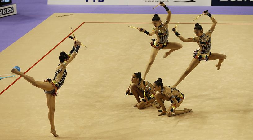 Выступление сборной Греции