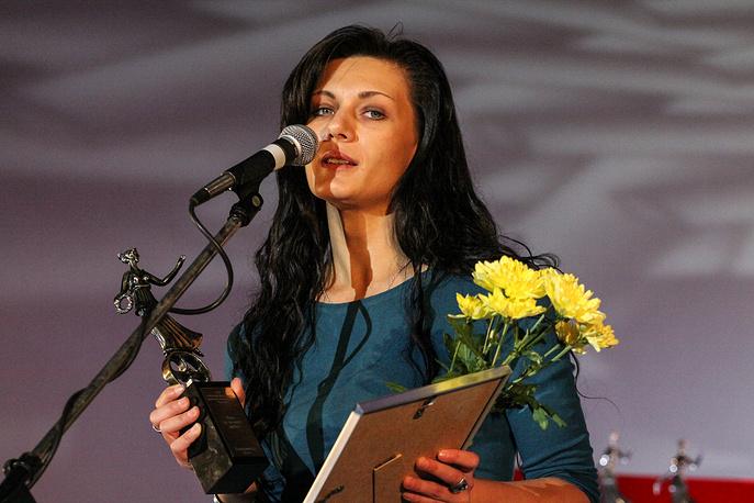 Обладатель Приза за лучший дебют, режиссер Анастасия Мирошниченко (Минск)