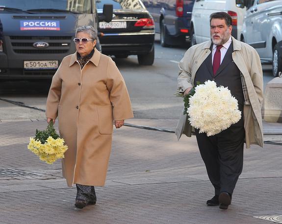Глава компании Bosco di Ciliegi Михаил Куснирович с супругой Эдит