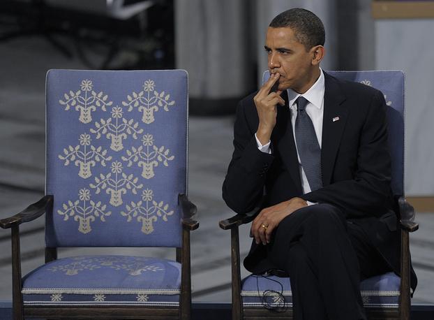 Барак Обама (2009) - за усилия по укреплению международной дипломатии и сотрудничества между народами