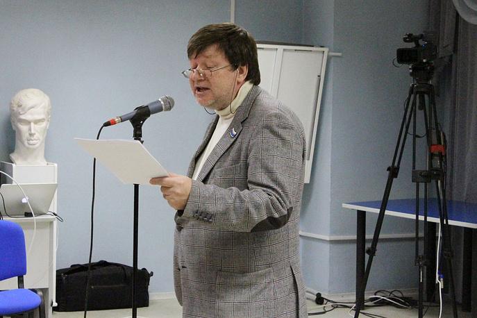 Председатель екатеринбургского отделения Союза писателей России Евгений Касимов