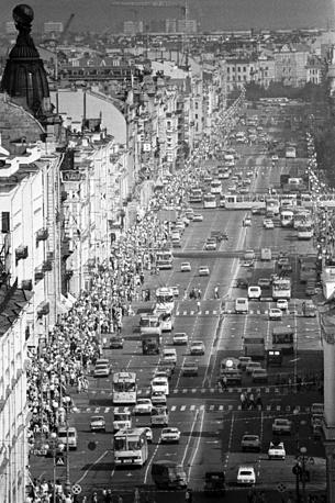 Невский проспект,1977 год