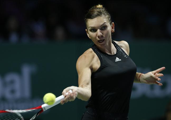 В финале она обыграла румынку Симону Халеп
