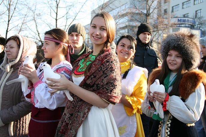 Участники молодежных национальных организаций