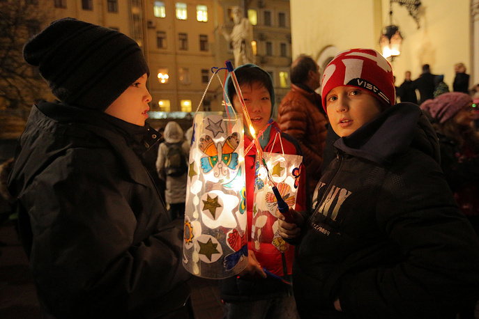 Празднование Дня святого Мартина в Петербурге