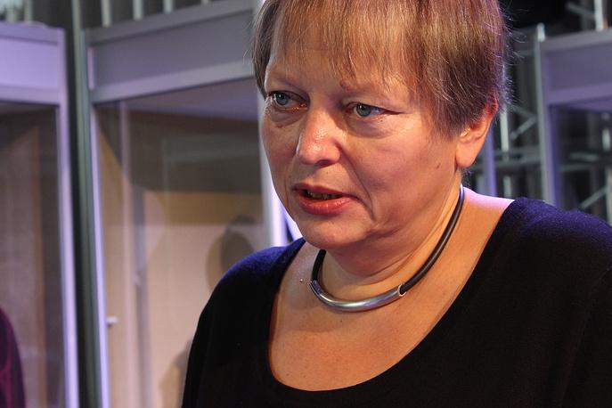 Директор Музея МХАТ Марфа Бубнова (Москва)