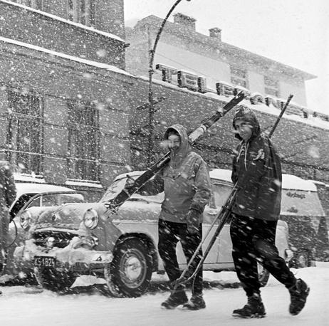 Москва,1963 год