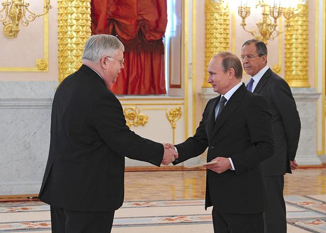 Новый посол США в России Джон Теффт