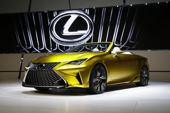 Концепт Lexus LF-C2