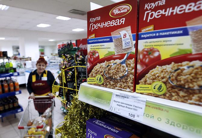 На минувшей неделе в России резко выросли цены на гречку