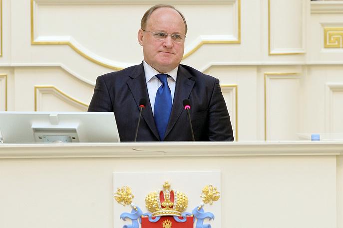 Вице-губернатор (куратор культурного блока) Владимир Кириллов