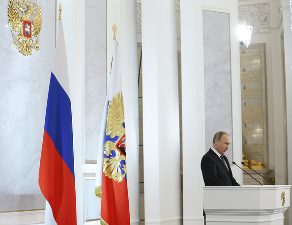 Россия не намерена втягиваться в дорогостоящую гонку вооружений, заверил российский лидер