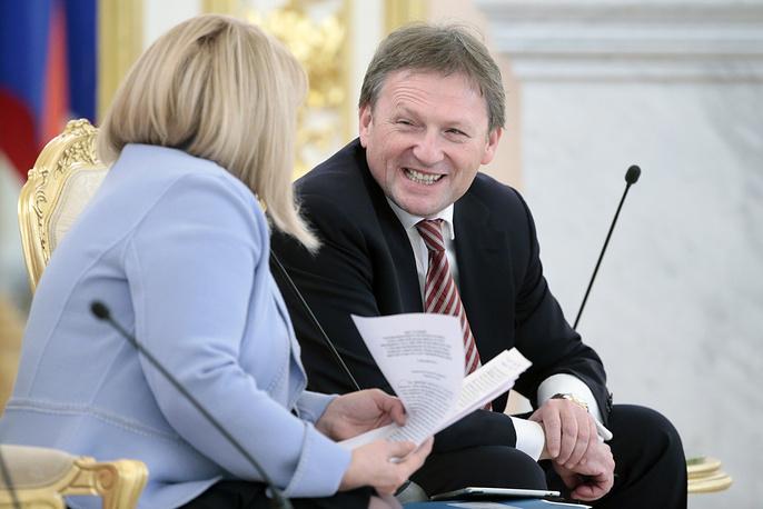 Уполномоченный при президенте по защите прав предпринимателей Борис Титов