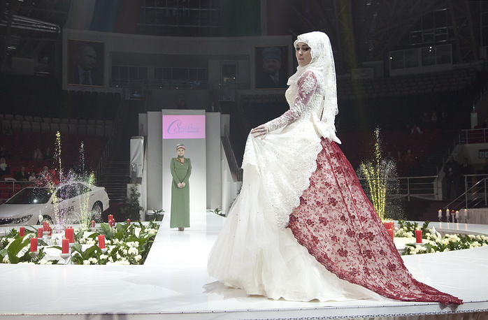 Участница Grozny Fashion Week