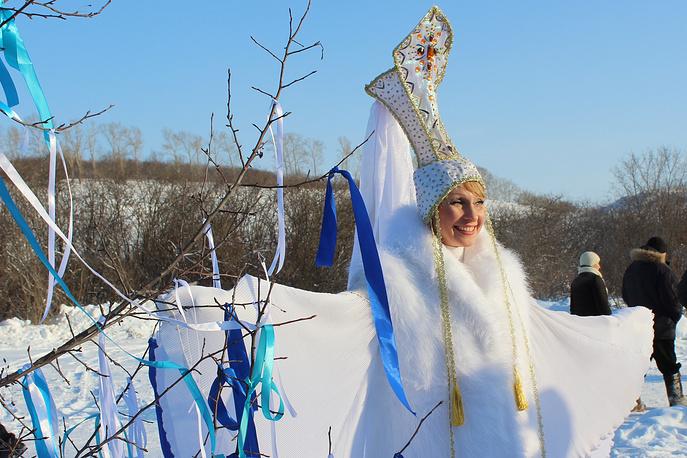 Во время открытия зимнего туристического сезона