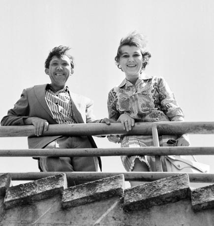 С женой Татьяной, 1963 год