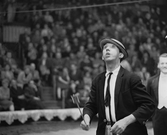 Клоун Юрий Никулин, 1963 год