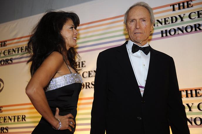 Дина и Клинт Иствуд, 2008 год