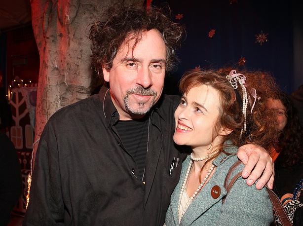 Тим Бертон и Хелена Бонэм Картер. 2008 год