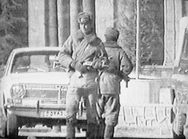 Советские солдаты патрулируют улицы Кабула. Декабрь 1979 года