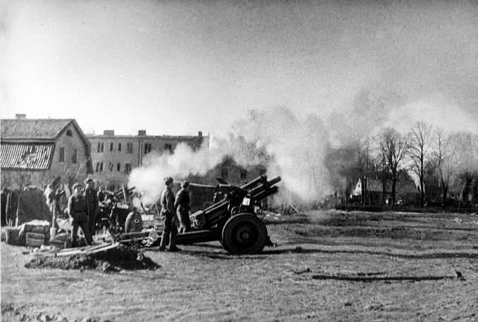 3-й Белорусский фронт. Бои за Кенигсберг, 1945 год