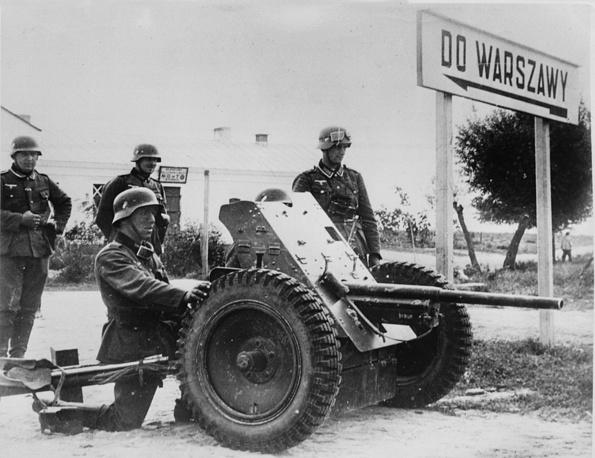 Наступление немецких войск на Варшаву, 23 сентября 1939 год
