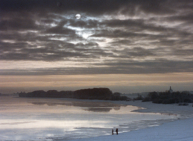 Незамерзающая река Волхов, 1994 год