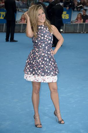 """Дженнифер Энистон на премьере фильма """"Мы Миллеры"""" в Лондоне, 2013 год"""
