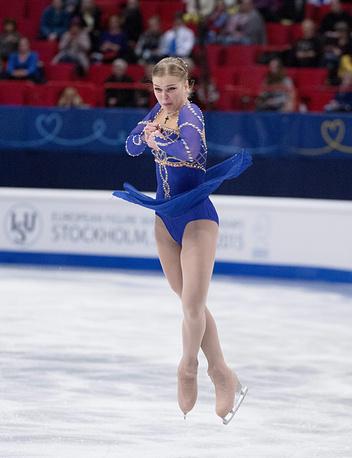 Спортсменка из Словакии Николь Райкова
