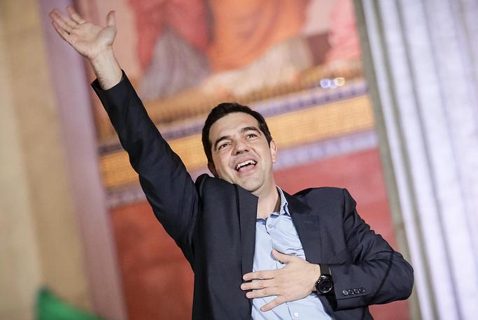 26 января лидер Коалиции радикальных левых сил (СИРИЗА) Алексис Ципрас принял присягу в качестве нового премьер-министра Греции