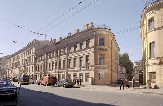 Дом Рогова  до первых попыток сноса