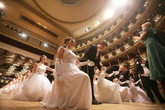 Оперный бал - один из самых известных в мире и самый роскошный в Вене