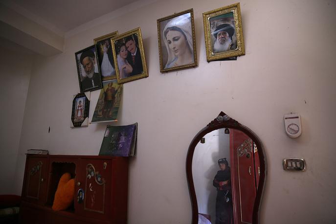 Дом одного из погибших в провинции Эль-Минья