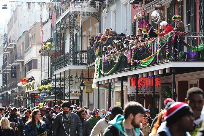 Ежегодно на фестиваль съезжаются более миллиона туристов со всех концов США и из других стран