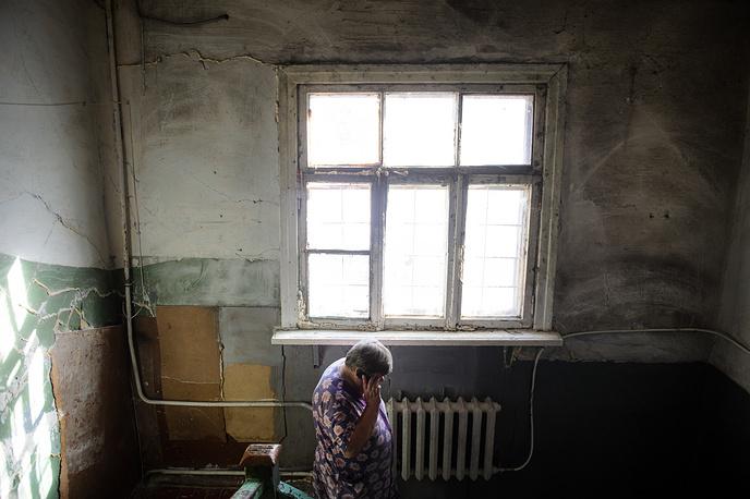 В одном из ветхих домов Екатеринбурга