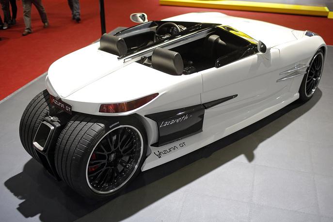 Французская Lazareth презентовала суперкар Wazuma GT. Новинку отличает легкий вес - всего 980 килограмм