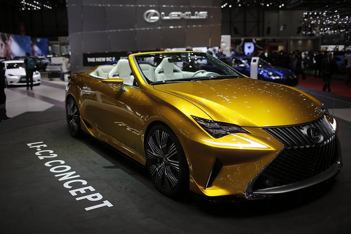 Концепткар от Lexus LF-C2