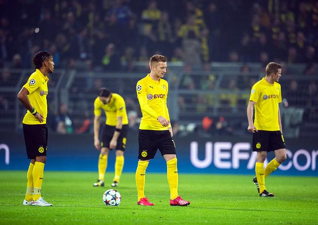Разочарование игроков немецкой команды