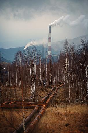 "Вид на ""Карабашмедь"". 2010 год"