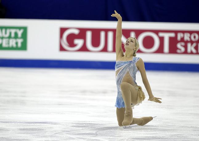 Еще одна российская спортсменка Анна Погорилая расположилась на 9-й позиции