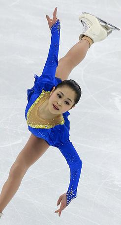 Также в тройку лучших по итогам короткой программы вошла представительница Японии Сатоко Мияхара