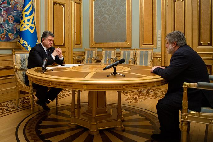 25 марта президент Украины Петр Порошенко отправил в отставку губернатора Днепропетровской области Игоря Коломойского. Соответствующий указ глава государства подписал во время встречи с ним