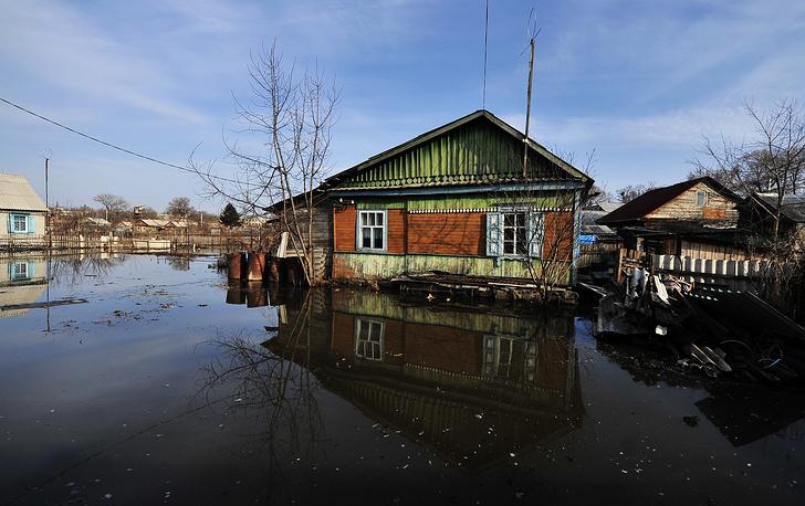 Паводки подтопили 136 домохозяйств района