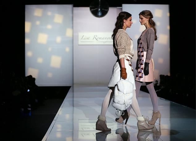 29 марта также состоялся показ коллекции дизайнера Елизаветы Романюк (Дом Моды VEMINA)