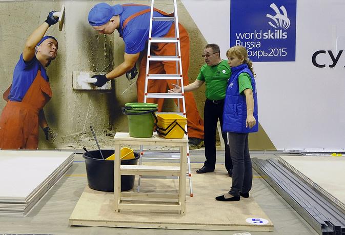 Участники полуфинальных соревнований Сибирского федерального округа Национального Чемпионата по профессиональному мастерству по стандартам WorldSkills