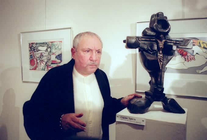 Эрнст Неизвестный, Москва, 1996 год