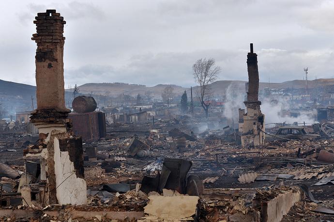 По последним данным, все крупные лесные пожары в Хакасии локализованы